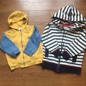 4/30$ Hatley & Mexx Sweater size 2 24M